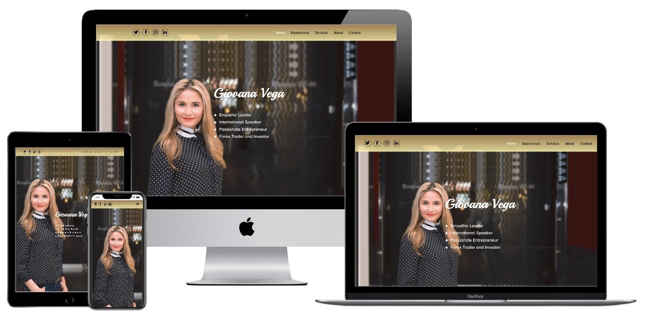 Giovana Vega website