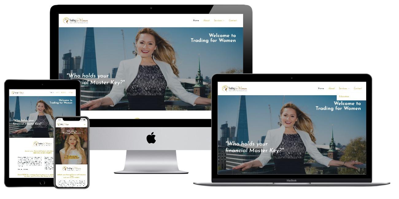 Trading for women website
