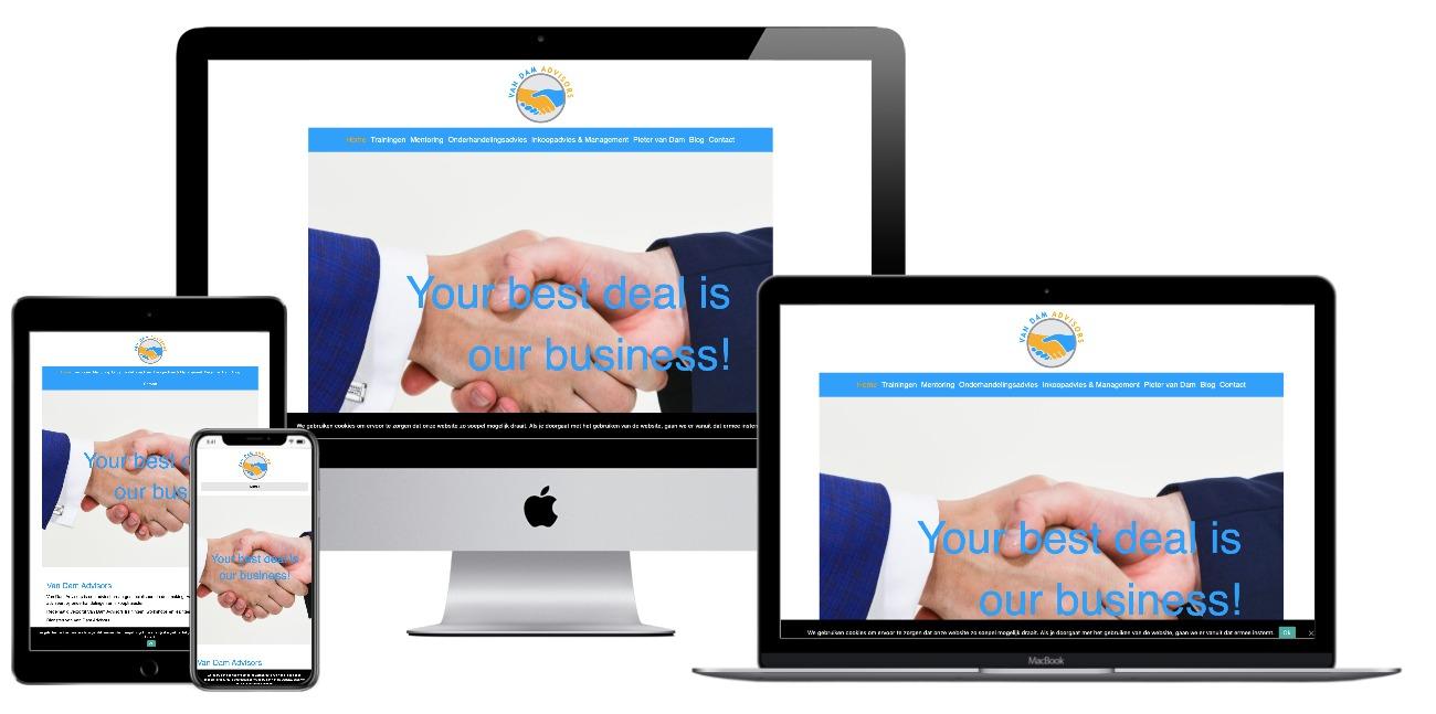 Van Dam website